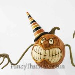 Scary Pumpkin Head by David Everett