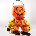 Pumpkin Head Candy Bucket