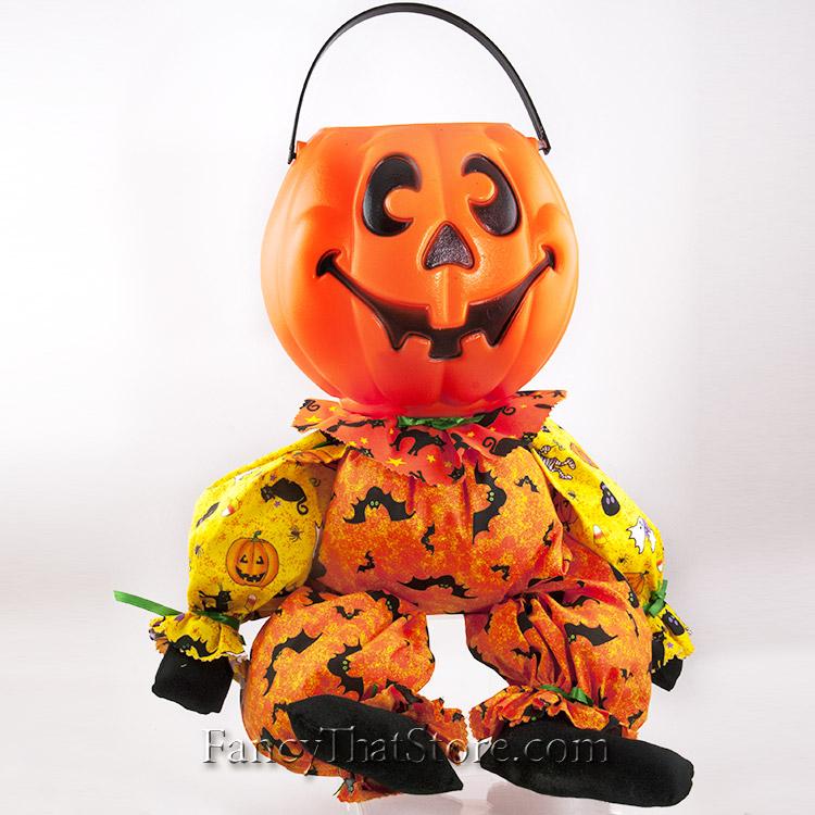 Pumpkin Head Candy Bucket Fancy That Store