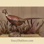 Tom Taber & Hersey Kyle Jr. Hand Carved Pheasant