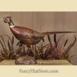 Tom Taber & Hersey Kyle Jr. Hand Carved Pheasant