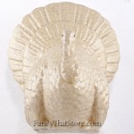 Cream Ceramic Turkey Lar