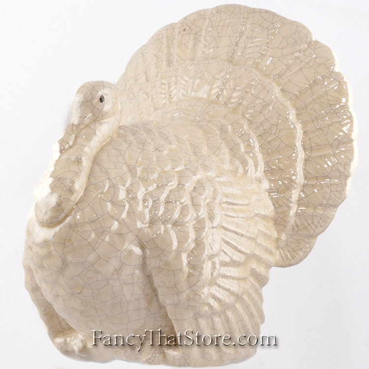 cream ceramic turkey large fancy that store rh fancythatstore com