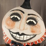 Pumpkin Clown Wall Art