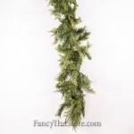 Mixed Pine and Cedar Garland - 9 Feet Long