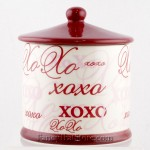 Hugs and Kisses Candy Jar