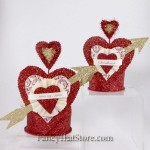 Nesting Valentine Crown Containers by Dee Foust Set of 2