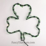 Lighted Shamrock
