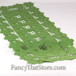 All Over Clovers Table Runner