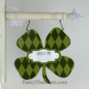 Luck of the Irish Plaque Arrow Collection