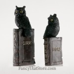 Owls on the Book of Afflictions Set of 2