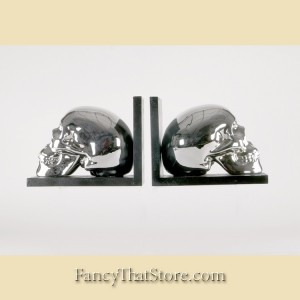 Skull Bookends Set of 2