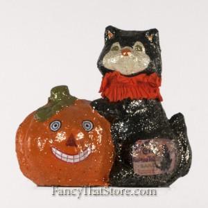 Black Cat Fortune Teller by Teena Flanner