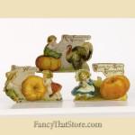 Children with Pumpkins Dummy Boards