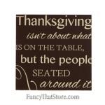 Thanksgiving Wood Tile