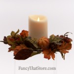 Fall Harvest Candle Ring