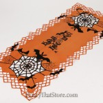Spooky Webs Table Runner