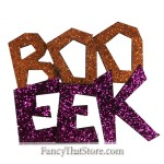 BOO and EEK Signs Set of 2
