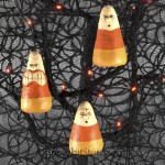Candy Corn Ornaments Set of 3