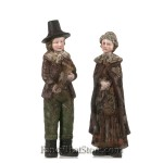 Rustic Pilgrim Boy and Girl