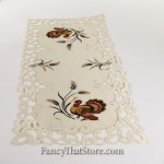 Turkey and Scrolls Table Runner 36""