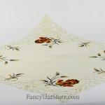 Turkey and Scrolls Table Topper