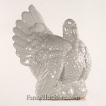 White Ceramic Turkey Large