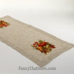 Embroidered Harvest Table Runner 16 x 36""