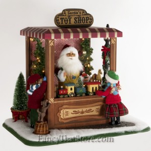 Lighted Magic of Christmas Toy Shop by Karen Didion
