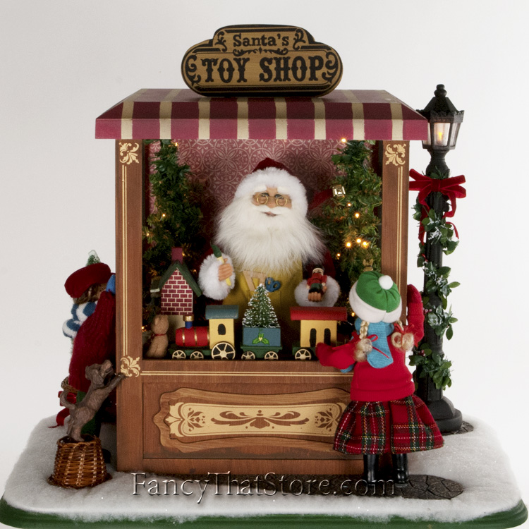 Christmas Toy Store : Magic of christmas toy shop by karen didion