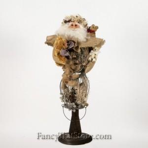 Teddy Bear Santa by Susan Brielmann