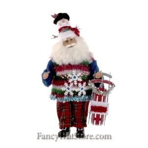 Snowman Santa by Karen Didion