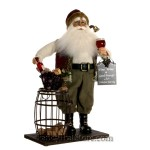 Cork Collector Santa by Karen Didion