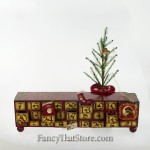 Vintage Style Advent Box