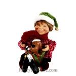 Elf with Puppy by Karen Didion