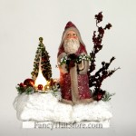 Red Coat Santa by Christopher James