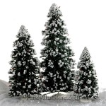 Snow Trees by Byers' Choice