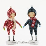 Snow Day Duo by Lori Mitchell Set of 2
