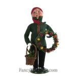 Boy with Wreaths by Byers' Choice