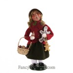 Girl with Gingerbread by Byers' Choice