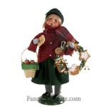 Gingerbread Girl with Wreath by Byers' Choice