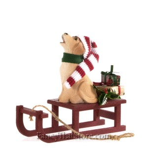 Dog with Sled by Bers' Choice