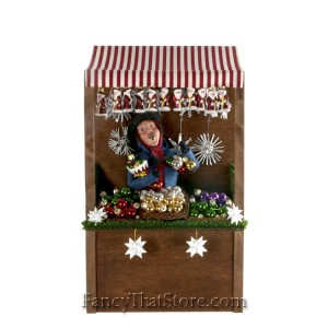 Glass Ornament Market Stall by Byers' Choice