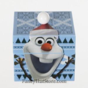 Olaf Musical Keepsake Box with Stud Earrings