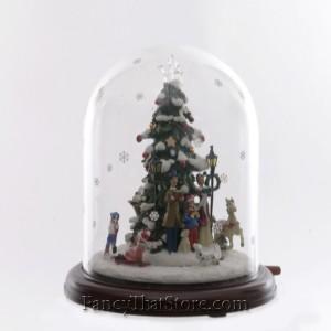 Animated Lighted Christmas Tree