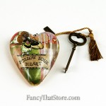 Follow Your Heart Art Heart by Kelly Rae Roberts