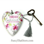 Forever Entwined Art Heart by Stephanie Ryan