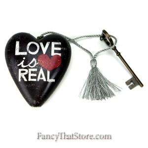 Love Is Real Art Heart by Michael Mullen