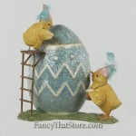 Chicks Painting Egg from Bethany Lowe Designs