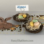 Pastel Nest Place Card Holder or Ornament Set of 2 from Bethany Lowe